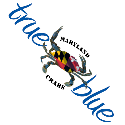 Image result for maryland true blue crabs label image