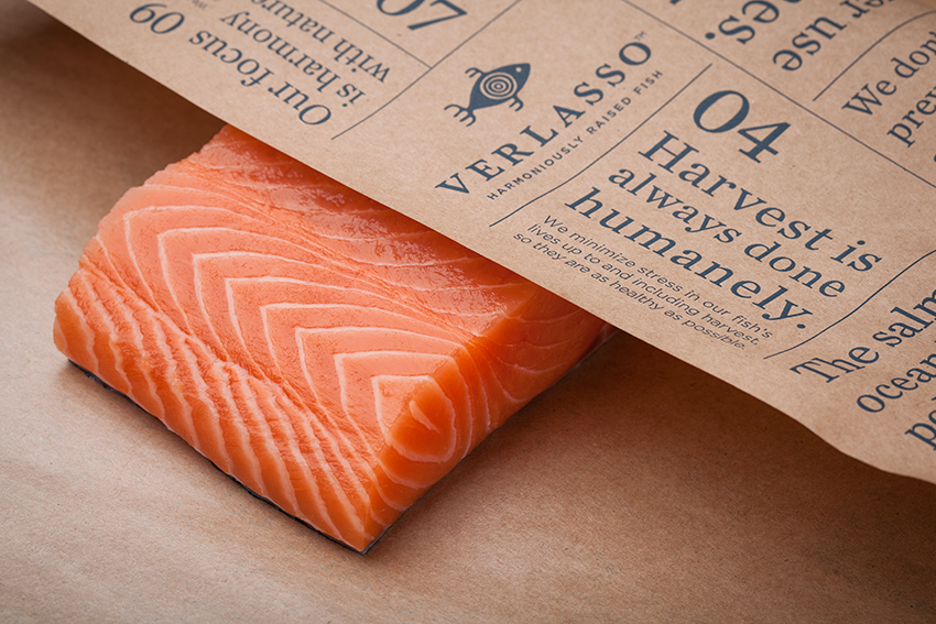 Verlasso Salmon fillet- skin on
