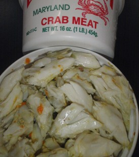 Crab Maryland Jumbo Lump Fresh