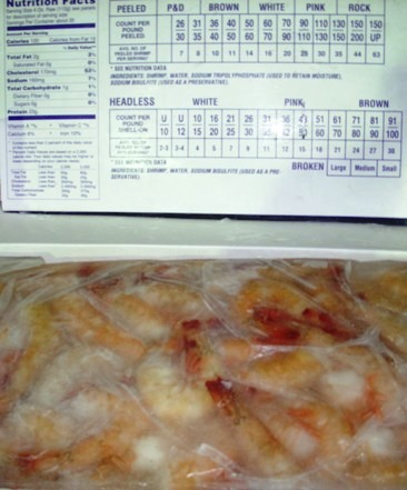 Shrimp PUDS 40/50